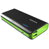 ADATA PT100 Power Bank 10000mAh černo-zelená - Powerbanka