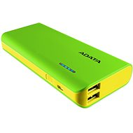 ADATA PT100 Power Bank 10000mAh zeleno-žlutá - Powerbanka