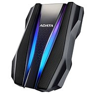 """ADATA HD770G HDD 2.5"""" 1TB RGB, černý - Externí disk"""