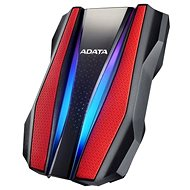 "ADATA HD770G HDD 2.5"" 1TB RGB červený - Externí disk"