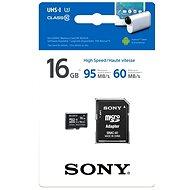 Sony MicroSDHC 16GB Class 10 + SD adaptér - Paměťová karta