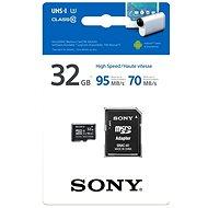 Sony MicroSDHC 32GB Class 10 + SD adaptér - Paměťová karta