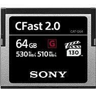 SONY G SERIES CFAST 2.0 64GB - Paměťová karta