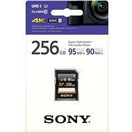 Sony SDXC 256GB Class 10 Pro UHS-I 95MB/s - Paměťová karta