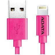 ADATA Lightning MFi 1m Pink - Datový kabel