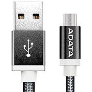ADATA microUSB 1m černý - Datový kabel