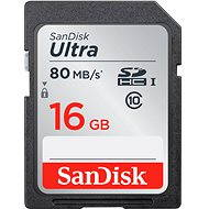 SanDisk SDHC 16GB Ultra Class 10 UHS-I