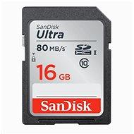 SanDisk SDHC 16GB Ultra Lite - Paměťová karta