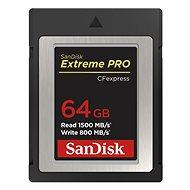 SanDisk CF Express Extreme Pro 64GB - Paměťová karta