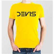 Dev1s Unisex žluté M - Tričko