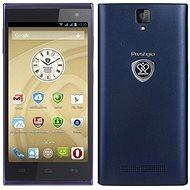 Prestigio MultiPhone 5455 DUO modrý - Mobilní telefon