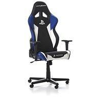 DXRACER RACING PLAYSTATION R90-INW černo-bílo-modrá - Herní židle