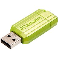 Verbatim Store 'n' Go PinStripe 16GB, eukalyptově zelený - Flash disk