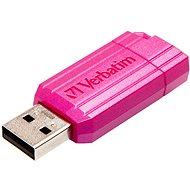 Verbatim Store 'n' Go PinStripe 64GB, růžový