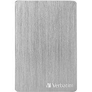 VERBATIM Store´n´ Go ALU Slim 2TB, stříbrný