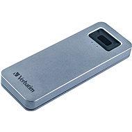VERBATIM Executive Fingerprint Secure SSD 512GB šedý