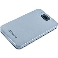 VERBATIM Executive Fingerprint Secure HDD 2TB šedý