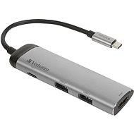 VERBATIM USB-C Multiport HUB USB 3.1 GEN 1/ 2x USB 3.0/ HDMI - Replikátor portů