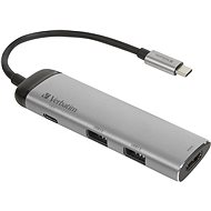 VERBATIM USB-C ADAPTER USB 3.1 GEN 1/ 2x USB 3.0/ HDMI - USB Hub