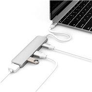 Hyper USB-C hub s 4K HDMI stříbrný - USB Hub