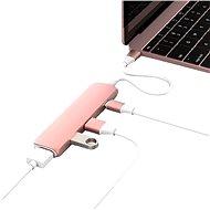 Hyper USB-C hub s 4K HDMI růžové - USB Hub