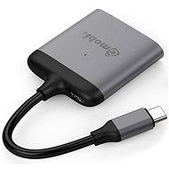 Gmobi USB-C HDMI Splitter GM42B Space Gray - Redukce