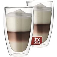 Maxxo Thermo DG832 Latte Glasses - Thermo-Glass