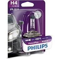 PHILIPS  H4 VisionPlus, 60/55W, patice P43t-38 - Autožárovka