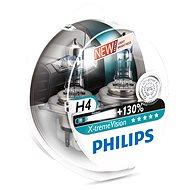 PHILIPS  H4 X-tremeVision, 60/55W, patice P43t-38, 2 ks - Autožárovka