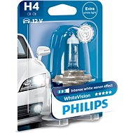 PHILIPS  H4 WhiteVision 60/55W, patice P43t-38 - Autožárovka