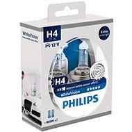 PHILIPS H4 WhiteVision 60/55W, patice P43t-38, 2 ks + zdarma 2x W5W - Autožárovka