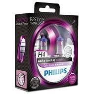 PHILIPS  H4 ColorVision Purple, patice P43t-38, 2 ks - Autožárovka