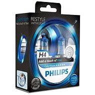 PHILIPS H4 ColorVision Blue, patice P43t-38, 2 ks - Autožárovka