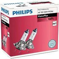 PHILIPS H7 VisionPlus, 55W, patice PX26d, 2 ks - Autožárovka