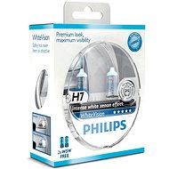 PHILIPS H7 WhiteVision, 55W, socket PX26d, 2pcs + free 2x W5W - Car Bulb