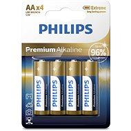 Philips LR6M4B 4 ks v balení - Jednorázová baterie