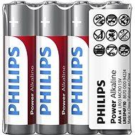Philips LR03P4F 4 ks v balení - Jednorázová baterie