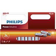 Jednorázová baterie Philips LR03P12W 12ks v balení
