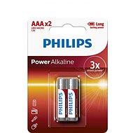 Philips LR03P2B 2 ks v balení - Jednorázová baterie
