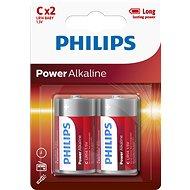 Philips LR14P2B 2ks v balení - Jednorázová baterie