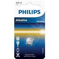 Philips A76 1ks v balení - Knoflíkové baterie