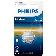 Philips CR2025 1 ks v balení - Knoflíkové baterie