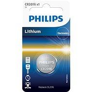 Philips CR2016 1 ks v balení - Knoflíkové baterie