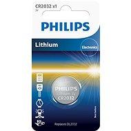 Philips CR2032 1 ks v balení - Knoflíkové baterie