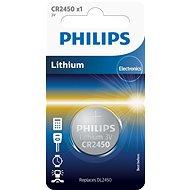 Philips CR2450 1 ks v balení - Knoflíkové baterie