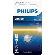 Philips CR1220 1 ks v balení - Knoflíkové baterie