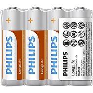 Philips R6L4F 4 ks v balení - Jednorázová baterie