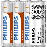 Philips R03L4F 4 ks v balení - Jednorázová baterie