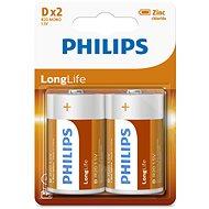 Philips R20L2B 2 ks v balení - Jednorázová baterie