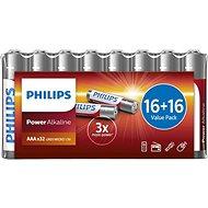 Baterie Philips LR03P32FV/10, 32 ks v balení - Baterie